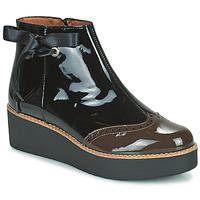 Cipők Női Csizmák Fericelli JANDICI Fekete  / Barna