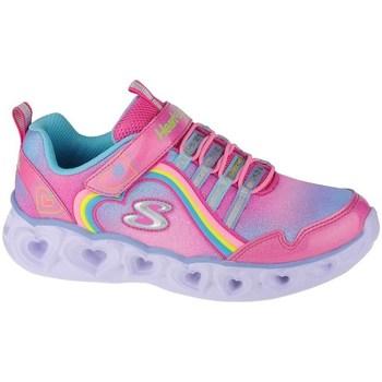 Cipők Lány Fitnesz Skechers Heart Lights Rainbow Lux Rózsaszín