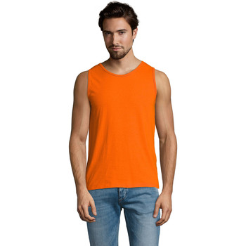 Ruhák Férfi Trikók / Ujjatlan pólók Sols Justin camiseta sin mangas Naranja