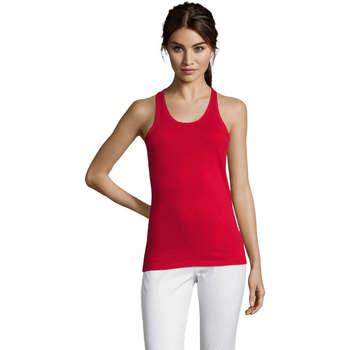 Ruhák Női Trikók / Ujjatlan pólók Sols Justin camiseta sin mangas Rojo