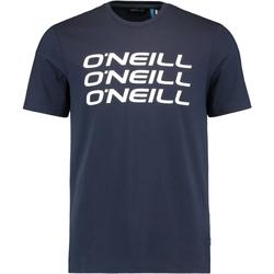 Ruhák Férfi Rövid ujjú pólók O'neill Triple Stack Kék