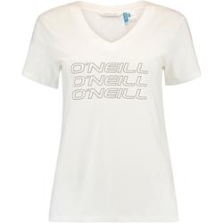 Ruhák Női Rövid ujjú pólók O'neill Triple Stack Fehér