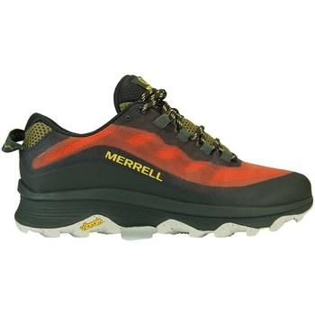 Cipők Férfi Rövid szárú edzőcipők Merrell Moab Speed Fekete