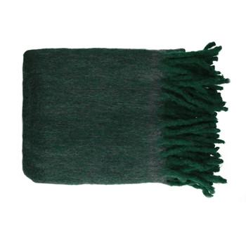 Otthon Plédek Pomax COSY Zöld / Sötét