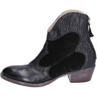 Cipők Női Bokacsizmák Moma BH281 Fekete