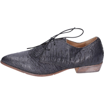 Cipők Női Oxford cipők Moma BH295 Fekete