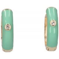 Órák & Ékszerek Női Fülbevalók Luna Collection 57414 Zöld