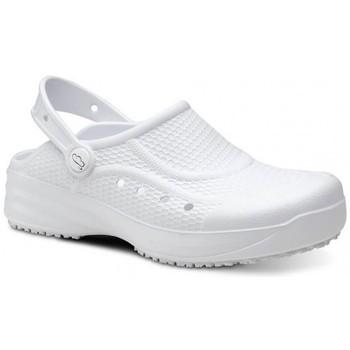 Cipők Férfi Klumpák Feliz Caminar Zueco Laboral Flotantes Evolution - Fehér