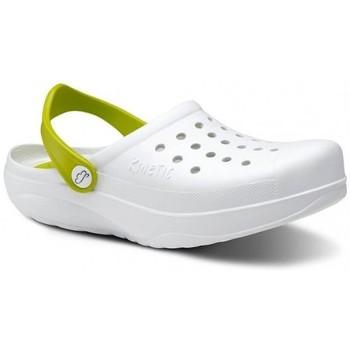 Cipők Férfi Klumpák Feliz Caminar Zuecos Sanitarios Kinetic - Fehér