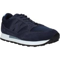 Cipők Férfi Rövid szárú edzőcipők Melluso U93200X Kék