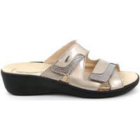 Cipők Női Papucsok Grunland CE0726 Bézs