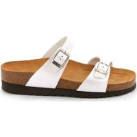 Cipők Női Papucsok Grunland CB2434 Fehér