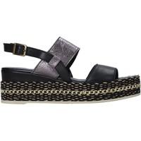Cipők Női Szandálok / Saruk Bueno Shoes 21WS5200 Fekete