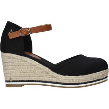 Cipők Női Gyékény talpú cipők Refresh 72740 Fekete