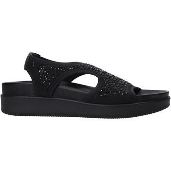 Cipők Női Szandálok / Saruk Enval 7281300 Fekete