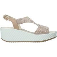 Cipők Női Szandálok / Saruk Enval 7280122 Bézs