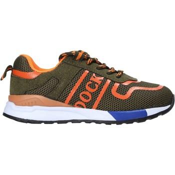 Cipők Gyerek Rövid szárú edzőcipők Docksteps TODAY-1 Zöld