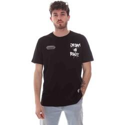 Ruhák Férfi Rövid ujjú pólók Disclaimer 21EDS50587 Fekete