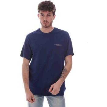 Ruhák Férfi Rövid ujjú pólók Dockers 27406-0116 Kék