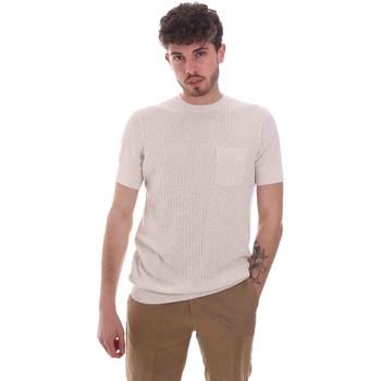 Ruhák Férfi Rövid ujjú pólók Antony Morato MMSW01179 YA500068 Bézs