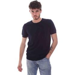 Ruhák Férfi Rövid ujjú pólók Gaudi 111GU53004 Kék