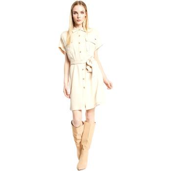 Ruhák Női Rövid ruhák Gaudi 111FD15011 Bézs