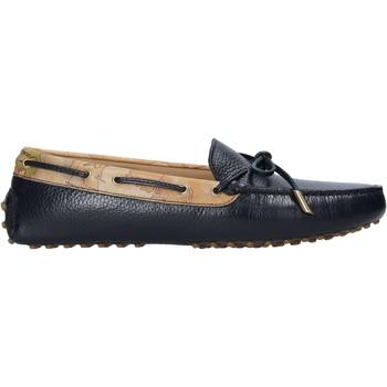 Cipők Női Mokkaszínek Alviero Martini P737 587A Fekete