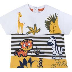 Ruhák Gyerek Rövid ujjú pólók Chicco 09067093000000 Fehér