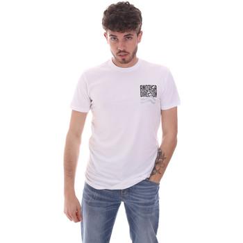 Ruhák Férfi Rövid ujjú pólók Antony Morato MMKS01993 FA120001 Fehér