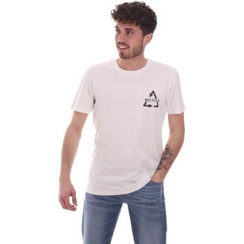 Ruhák Férfi Rövid ujjú pólók Antony Morato MMKS02005 FA100144 Fehér