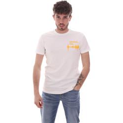 Ruhák Férfi Rövid ujjú pólók Antony Morato MMKS02002 FA120001 Fehér