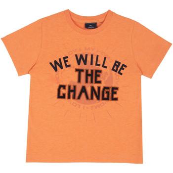 Ruhák Gyerek Rövid ujjú pólók Chicco 09067318000000 Narancssárga