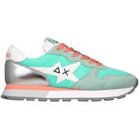 Cipők Női Rövid szárú edzőcipők Sun68 Z31208 Kék