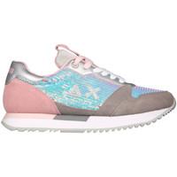 Cipők Női Rövid szárú edzőcipők Sun68 Z31214 Rózsaszín