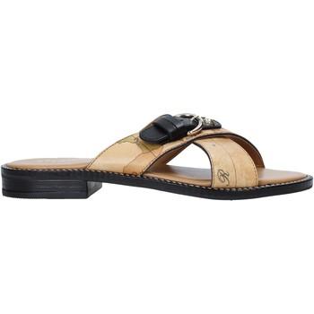 Cipők Női Papucsok Alviero Martini E085 578A Barna
