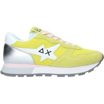 Cipők Női Rövid szárú edzőcipők Sun68 Z31208 Sárga