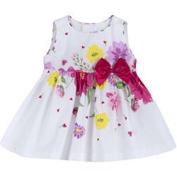 Ruhák Lány Rövid ruhák Chicco 09003900000000 Fehér