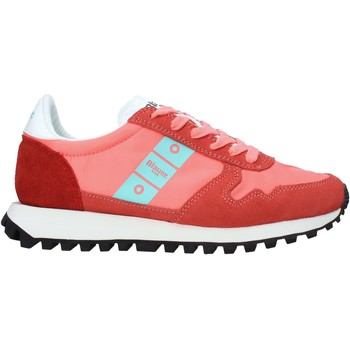 Cipők Női Rövid szárú edzőcipők Blauer S1MERRILL01/NYS Piros
