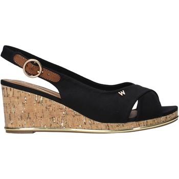 Cipők Női Szandálok / Saruk Wrangler WL11653A Fekete