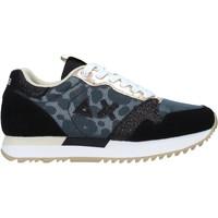 Cipők Női Rövid szárú edzőcipők Sun68 Z31212 Fekete
