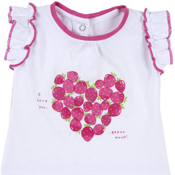 Ruhák Lány Rövid ujjú pólók Chicco 09067088000000 Fehér