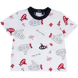 Ruhák Gyerek Rövid ujjú pólók Chicco 09067163000000 Fehér