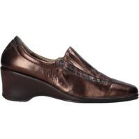 Cipők Női Mokkaszínek Confort 6309 Barna