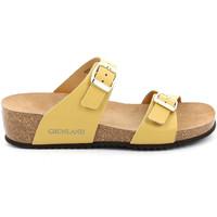 Cipők Női Papucsok Grunland CB2548 Sárga