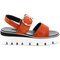 Cipők Női Szandálok / Saruk Grunland SA2394 Piros