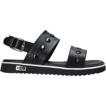 Cipők Lány Szandálok / Saruk Cult PLATE1 Fekete