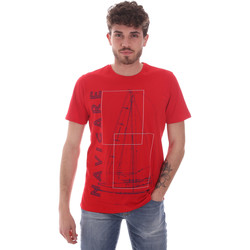 Ruhák Férfi Rövid ujjú pólók Navigare NV31109 Piros