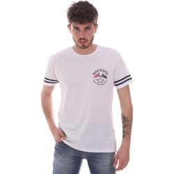 Ruhák Férfi Rövid ujjú pólók Navigare NV31123 Fehér