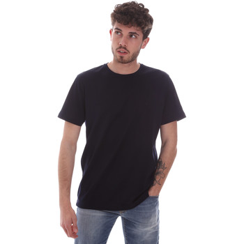 Ruhák Férfi Rövid ujjú pólók Navigare NV71003 Kék