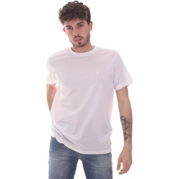 Ruhák Férfi Rövid ujjú pólók Navigare NV71003 Fehér